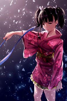 Anime Kimono ''Mumei'', de Kotetsujou no Kabaneri. Kabaneri Anime, Art Anime, Anime Art Girl, Kawaii Anime, Anime Kimono, Kimono Animé, Kōtetsujō No Kabaneri, Manga Combat, Original Anime