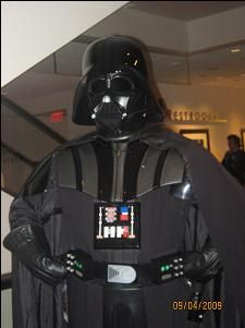 Darth Vader. There are many versions of him at this con.