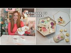 Como hacer decoupage en jabones ♥ Marina Capano - YouTube Decoupage, Gallery Wall, Videos, Frame, Youtube, Diy, Home Decor, Decorative Soaps, Decorated Candles