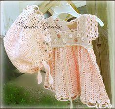 Garden Lullaby Baby Dress