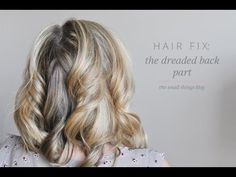 Hair Fix: Back Part