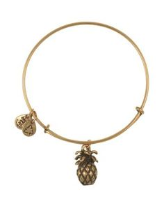 Signifies hospitality. Alex and Ani Pineapple Expandable Wire Bangle Bloomingdale's