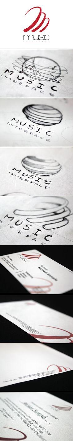 Imagen corporativa de la empresa Music Interface por Fernando Terán y Andrés Calvopiña