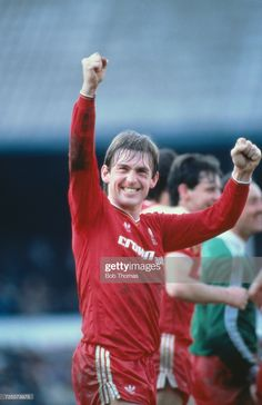 Kenny Dalglish of Liverpool celebrates after the FA Cup semi-final against Southampton at White Hart Lane in London, April Liverpool won the match after extra-time. Kenny Dalglish, White Hart Lane, Semi Final, Fa Cup, Liverpool Fc, Southampton, Bob, Football, Celebrities
