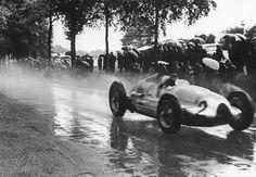 1939 Spa, Tazio Nuvolari in the Auto Union