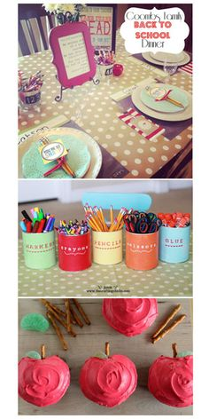 50 Back to School Ideas