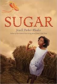 """""""Everyone likes sugar. But I hate it."""" Says the ten-year-old girl, also named Sugar, an emancipated slave living on a sugar plantation and working as a sharecropper in post-Civil War Louisiana. Mostly it is a story about a girl, once physically enslaved, then bound to a life of hard labor after emancipation. But the reader soon realizes Sugar's mind is not enslaved or held in bondage. She just has to find a way to freedom. Review by @keiladawson"""