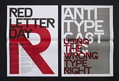 Ryan Atkinson was commissioned by Hype For Type to create a 16 page booklet that would showcase and promote its Exclusive Faces range of commissioned typefaces. Atkinson's response: to create four typographic posters presented as a call to arms to designers to revolt against dull design...