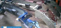 Volvo used parts front panel 02