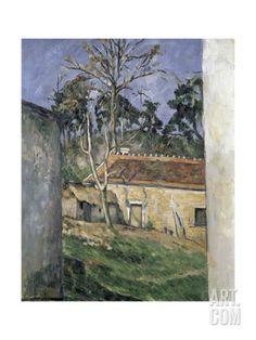 ArtWall Paul Cezannes Jas De Bouffan Art Appeelz Removable Graphic Wall Art 14 x 18