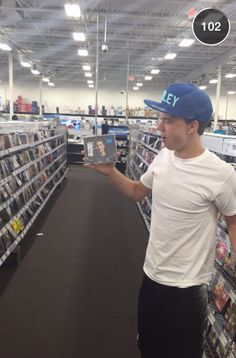 holding the Shawn Mendes CD I want for Christmas! I love you Shawn Mendes and Taylor Caniff! Cameron Alexander Dallas, Cameron Dallas, Jack Dail, Dallas Taylor, Hayes Grier, Nash Grier, Magcon Boys, Magcon Family, Jack Edwards