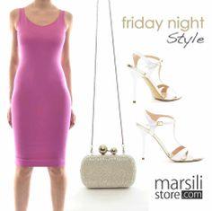 Abito #DSQUARED2 http://bit.ly/1mQHXo7 clutch #LolaCruz http://bit.ly/1itmm40 sandali #IsabelleParis http://bit.ly/1qaJM5Ee il tuo look del venerdì sera è fatto! Scopri le collezioni #primaveraestate si MarsiliStore.com! #moda #lusso #loveshoppingonline