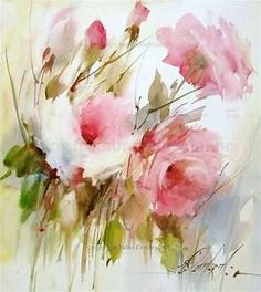245 best images about Fabio Cembranelli on Pinterest | Flower watercolor, Watercolour and ...