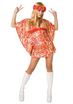special orange  shade costume for Halloween accasion