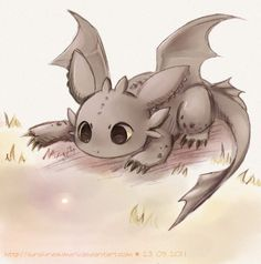Toothless Art Print by Sunny                              …                                                                                                                                                                                 More