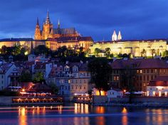 Prague, in the night!