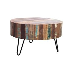 BY-BOO - Salontafel Wood Round Ø70