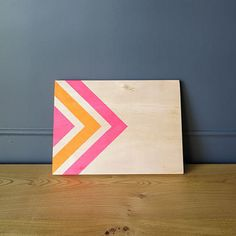 Hey, I found this really awesome Etsy listing at https://www.etsy.com/listing/258005095/pink-orange-service-board