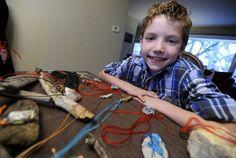 Nolan Hahn, 8, raises nearly $1,000 for restoration of #MountProspect, #IL Central School.