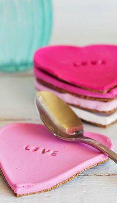 DIY Baking Soda & Cornstarch Heart Coasters