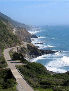 The 10 Best Road Trips in America | Los Angeles and the iconic route 1 through Big Sur, CA.