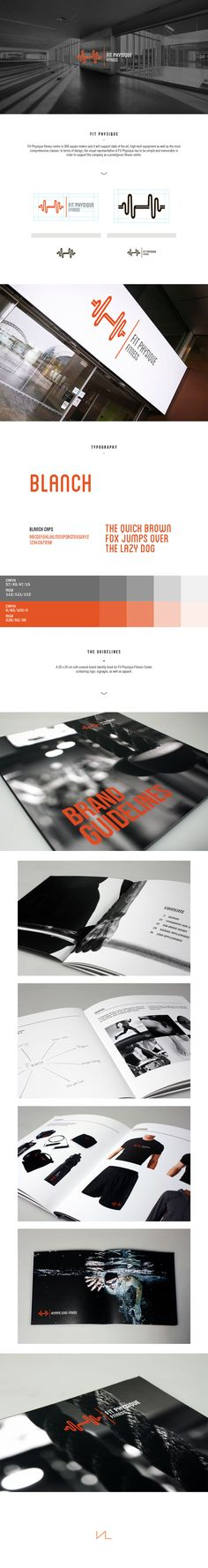 Fit Physique - Brand Identity on Behance