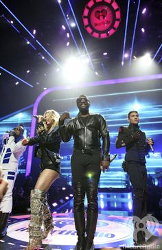 The Black Eyed Peas at the iHeartRadio Music Festival 2011. Enter now for a chance to win a trip and tickets to iHeartRadio Music Festival 2012: http://vegas.iheart.com/go/iheartradio-music-festival/   Listen to your own The Black Eyed Peas inspired station on iHeartRadio: http://www.iheart.com/#/artist/The-Black-Eyed-Peas-116313/?pname=pinterest=bepradio
