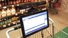 shopping trolley tablet - Google Search