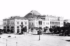 I have often daydreamed, if I had the means, which of the many pre-World War II buildings around Athens that have been abando. Old Photos, Vintage Photos, Old Greek, London Hotels, Athens Greece, Bucharest, Old City, Manga, 19th Century