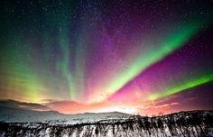 aurora at dawn