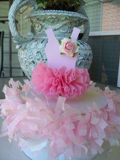 Ballerina Tutu Cake Topper for Birthday Party