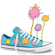 Dr. Seuss' The Lorax...on Converse. Perfection.