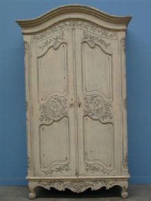French Curved Top Armoire