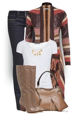 """Untitled #2178"" by sherri-leger ❤ liked on Polyvore featuring maurices, Elie Tahari, Calvin Klein, Kenneth Cole and Brooks Brothers"