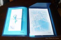 Papier à lettres réalisé à partir des  photos de Céline Photos Art Nature de plumes et de plumetis
