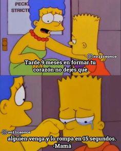 Francés das - #das #Francés Simpsons Frases, Words Can Hurt, Sad Life, The Simpsons, Tutorial, Drake, Love Quotes, Anime, Nostalgia
