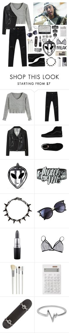 """together we can fake our own deaths"" by brok3n-hearts ❤ liked on Polyvore featuring Acne Studios, Vans, Hot Topic, ADAM, NARS Cosmetics, MAC Cosmetics, Cath Kidston, Muji and Jewel Exclusive"