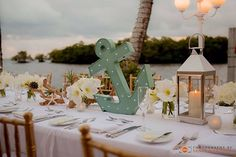 Nautical wedding, beach chic