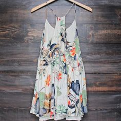 x shophearts - bohemian day dress - tropical print - shophearts - 2