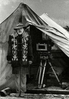 "Director Robert Altman...at a guess, probably on ""McCabe and Mrs. Miller""."