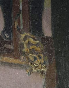 """Chat, Hommage à Cézanne"" cat,  to homage to Cézanne  