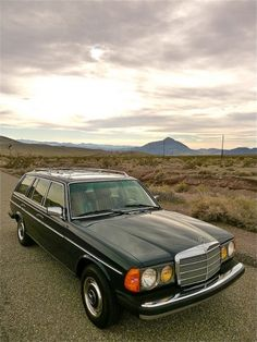 Mercedes Motoring - 1984 300TD Turbo Diesel Station Wagon