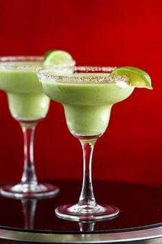 Kicked-Up Avocado Margarita for Cinco de Mayo by Cookin' Canuck #recipe #avocado #cincodemayo