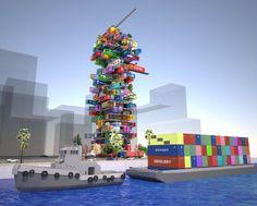 Schlafen im Container: So sieht das Hotel der Zukunft aus | Blick