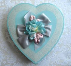Maison Decor: Vintage Valentine Candy Boxes