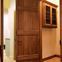 French Plank Door -