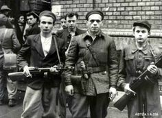 Militants during the Hungarian Revolution of photo: Historical Archives of the Hungarian State Security Soviet Army, Soviet Union, Political Beliefs, Heart Of Europe, Civil Society, Freedom Fighters, Central Europe, Budapest Hungary, Historian