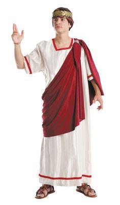 traje de senador romano