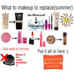 """""""summer makeup tips!"""" by louis-tomlinson13 on Polyvore"""