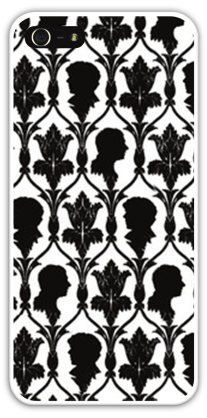 Sherlock Wallpaper Cell Phone Case Cover Apple iPhone 4 4S 5 5S Samsung Galaxy S3 S4 BBC Holmes Benedict Cumberbatch Fandom Fangirl Fangirls FREE SHIPPING!